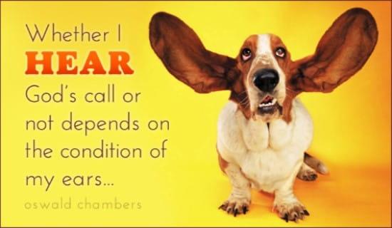 Hear God's Call