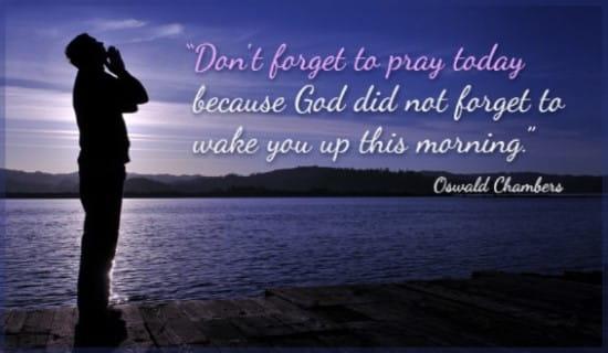 free pray today ecard