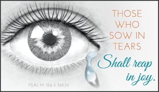 free joy - psalm 126 5 nkjv ecard