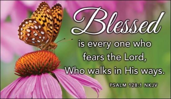 Psalm 128:1 NKJV ecard, online card