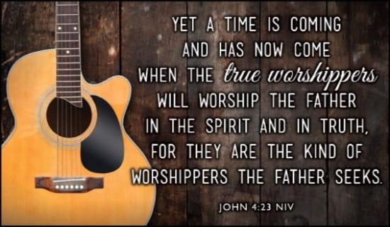 John 4:23 NIV