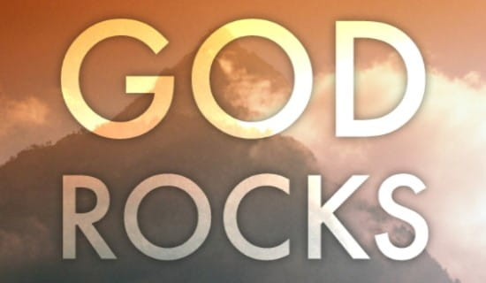 free god rocks ecard
