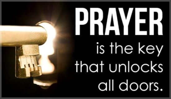Prayer Unlocks Doors