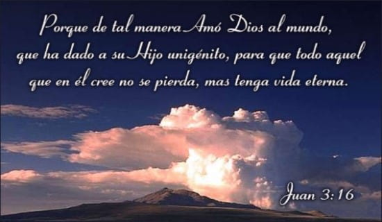 Juan 3:16 ecard, online card