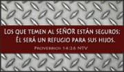 Proverbios 14:26 NTV