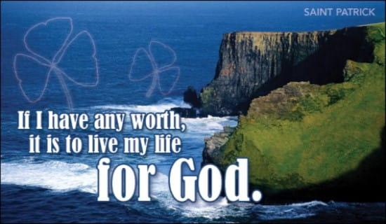 live for god ecard