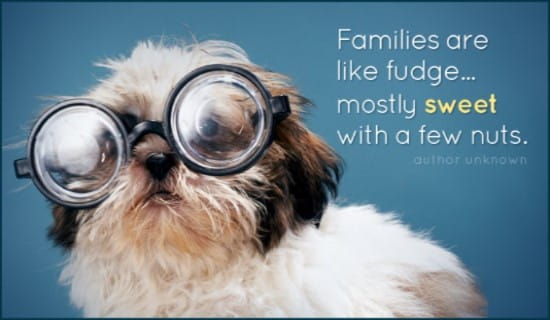 Families are Nutty ecard, online card