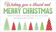 Blessed and Merry