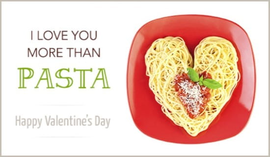 Image result for Valentine's Day pasta