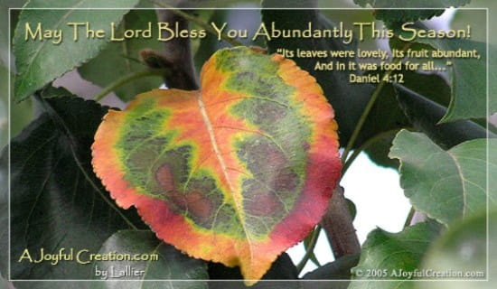 Abundant ecard, online card
