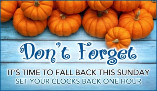 Image result for fall back 2016 time change