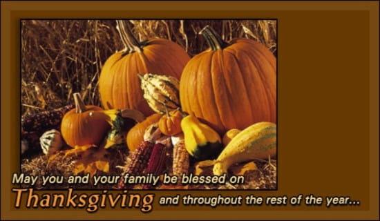 Thanksgiving - Pumpkins