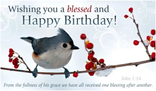 Blessed Birthday