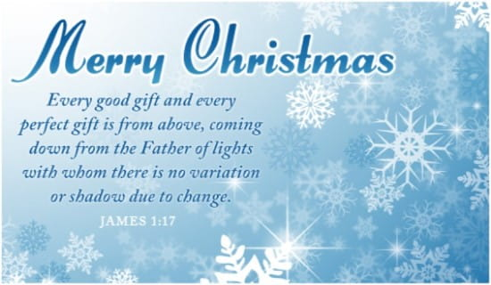 Father of Lights ecard, online card