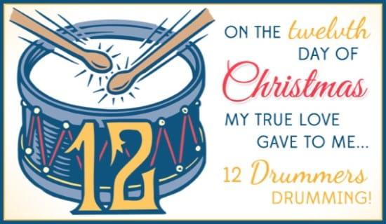 12 Drummers