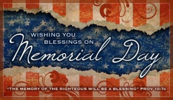Memorial Blessings