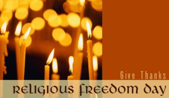Religious Freedom Day