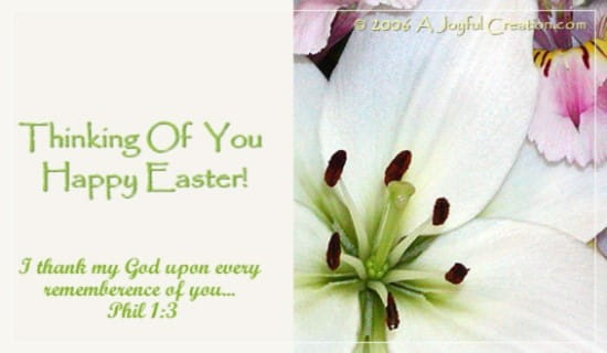 Easter - Thinking of You