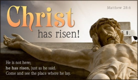 Christ has risen! ecard, online card