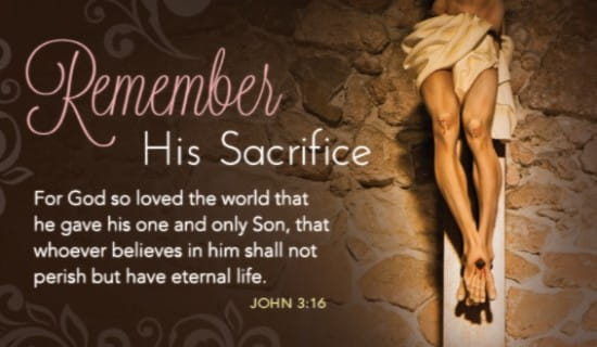 Remember Sacrifice