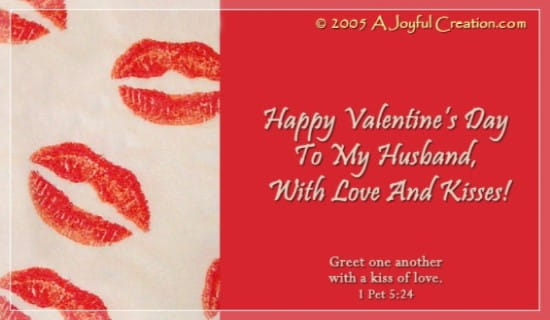 Free To My Husband eCard eMail Free Personalized Valentines Day – Free Valentines Day E Card