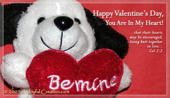Be Mine eCard Free A Joyful Creation Greeting Cards Online – Valentine Cards Online Send