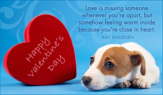 Free Missing You eCard eMail Free Personalized Valentines Day – Free Valentines Day E Card