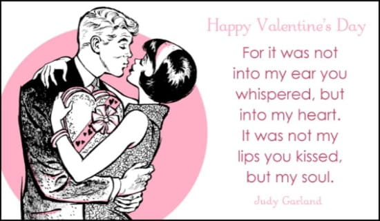 Retro Love eCard Free Valentines Day Cards Online – E Card Valentine