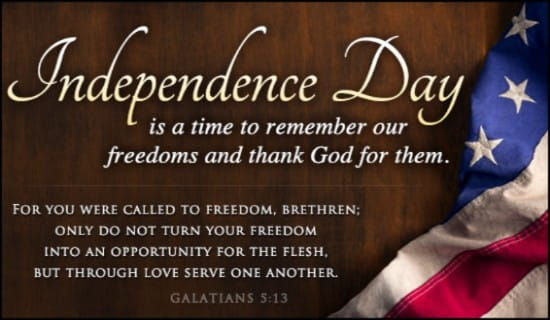Remember Freedoms ecard, online card