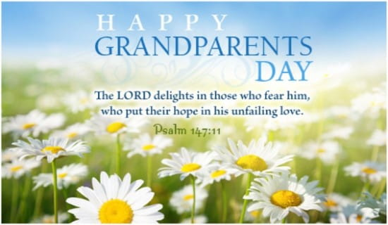 Grandparents Day ecard, online card
