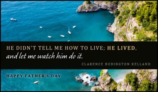 Watch Him Live