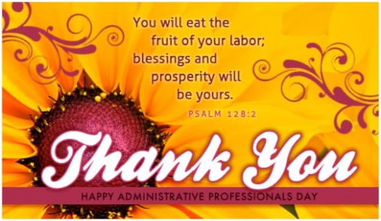 Administrative Professionals Day eCards - Free eMail Greeting ...