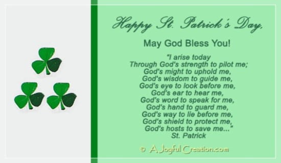 Happy St Patrick's Day eCard - Free St. Patrick's Day ...