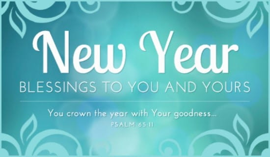 New Year Blessings eCard - Free New Year Cards Online