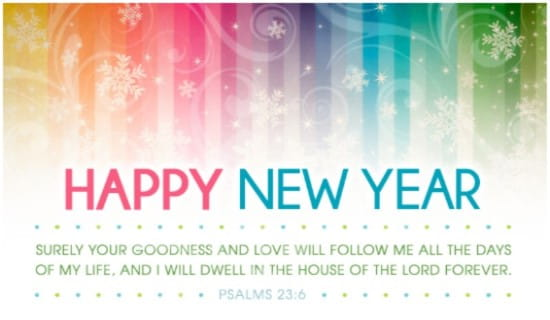 Bible Verse Happy New Year – Merry Christmas And Happy New Year 2018