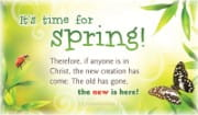 Time for Spring