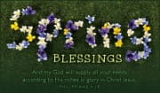 Spring Blessings