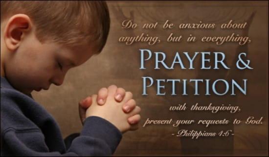 Prayer & Petition
