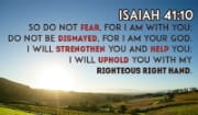 Don't Fear, For I AM with YOU