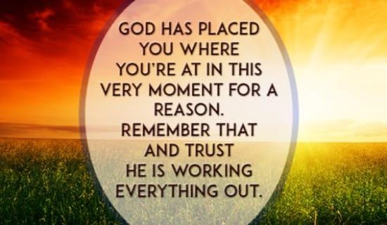 free trust him  ecard