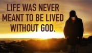 Thank you God for never leaving me!