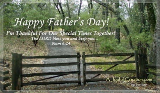 Happy Father's Day ecard, online card