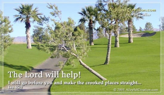 The Lord Will Help ecard, online card