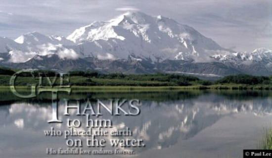 Psalm 136:6