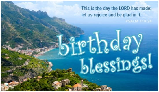 Free Birthday Blessings eCard eMail Free Personalized Birthday – Free Birthday Cards Online