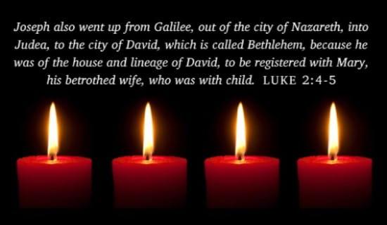 Luke 2: 4-5