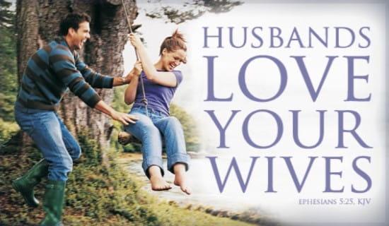 free husbands love wives ecard