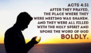 Speak the Word of God with BOLDNESS