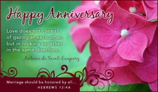 Happy Anniversary Ecard Free Anniversary Greeting Cards