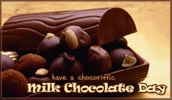 Milk Chocolate Day (7/28)